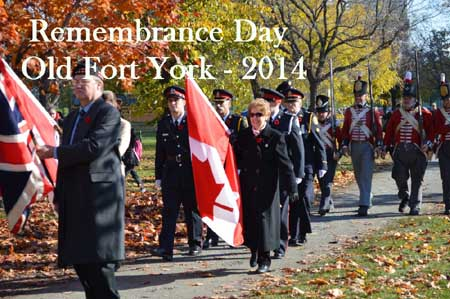 Ft York Rememberance Day 2014