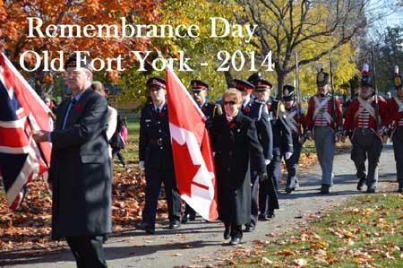 Ft York Rememberance Day 2014