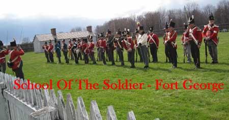 Fort George 2014 School of soldier