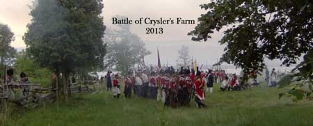 The Battle of Crysler's Farm 2013