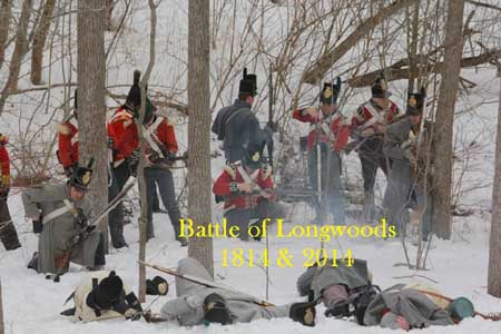 Battle of Longwoods 200th Anniversary March 8, 2014