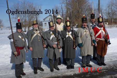 Battle of Ogdensburgh Feb 22 – 23, 2014