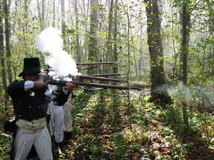Norfolk Militia Heritage Regiment Re-enactment Group